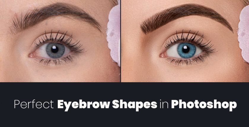 create eyebrow shaping in photoshop