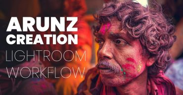 Arunz Creation lightroom cc workflow tutorial